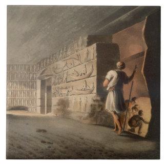 Subterranean Chamber near the Pyramids at Geeza, p Tile