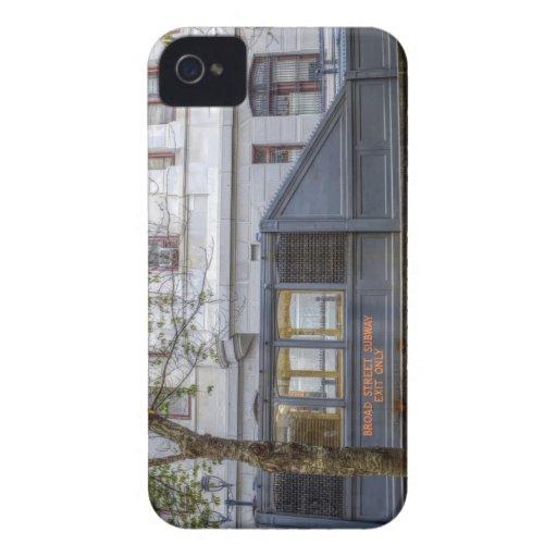 Subterráneo de la calle amplia iPhone 4 carcasas