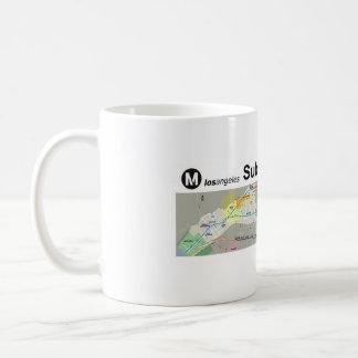 Subterráneo de Los Ángeles al mar Taza De Café