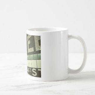 Subterráneo fresco taza de café