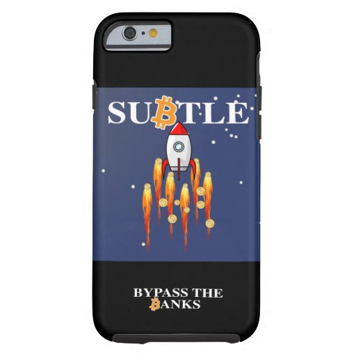 SuBtle bitcoin iPhone cover