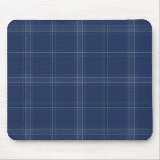 Subtle Blue Check Mousepad