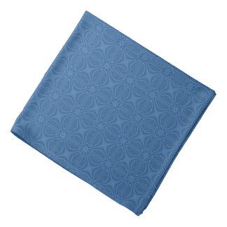 Subtle Blue Crisscross Geometric Pattern Bandanna