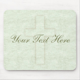 Subtle Cross Mousepad