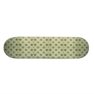 Subtle Decorative Pattern Skateboard
