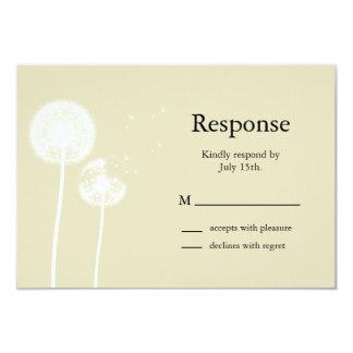 Subtle Elegance RSVP 3.5x5 Paper Invitation Card