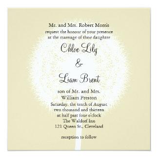 Subtle Elegance Wedding Invitation