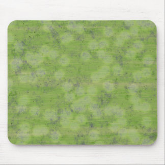 SUBTLE GREEN DESIGN MOUSE PAD