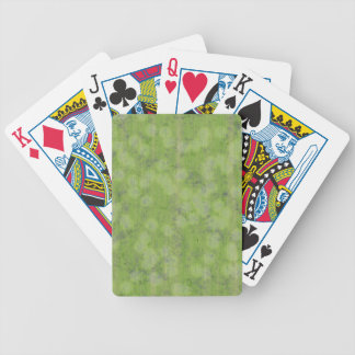 SUBTLE GREEN DESIGN PLAYING CARDS