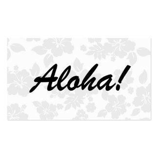 Subtle Hawaiian Business Card
