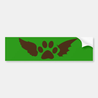 Subtle Otherkin/Therian Bumper Sticker, Green Car Bumper Sticker
