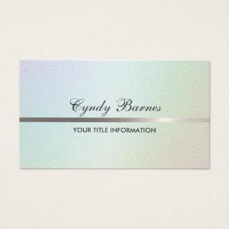 Subtle Pearl Business Card