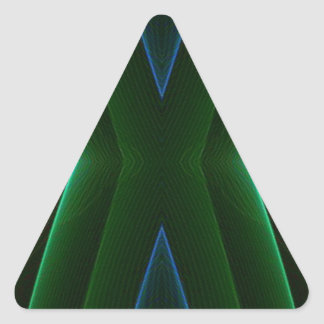 Subtle Professional Design For Work Environment Triangle Sticker