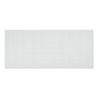 Subtle Running Bond Brick 4x9.25 Paper Invitation Card