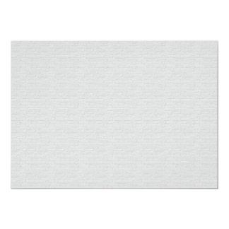Subtle Running Bond Brick 5x7 Paper Invitation Card