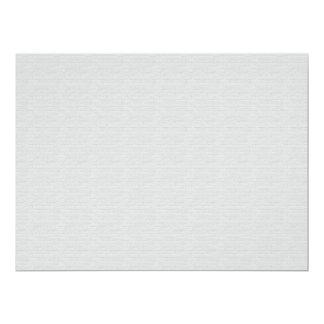 Subtle Running Bond Brick 6.5x8.75 Paper Invitation Card