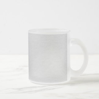 Subtle Running Bond Brick Frosted Glass Coffee Mug