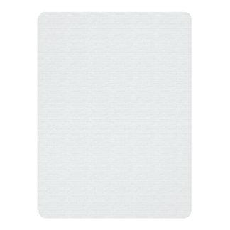 Subtle Running Bond Brick Wall 6.5x8.75 Paper Invitation Card