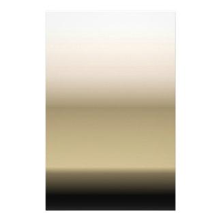 Subtle Shades of Beige to Black Ombre Gradient Flyer