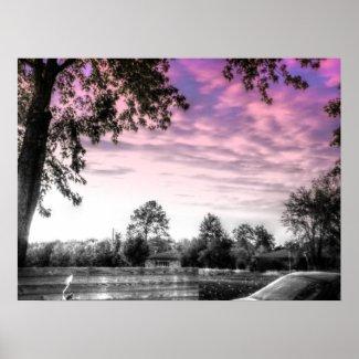 Subtle Sky print