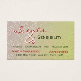 Subtle Swirls Business Card