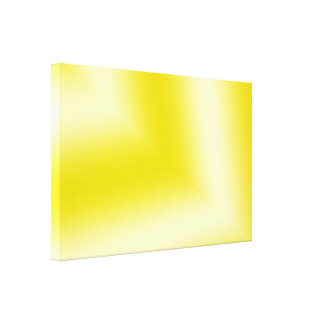 Subtle Yellows and Whites Abstract Canvas Print