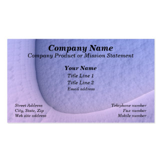 Subtlety Double-Sided Standard Business Cards (Pack Of 100)