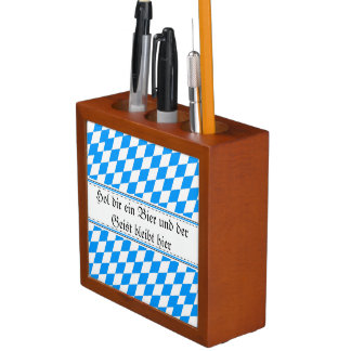 Subtly Bavarian Pencil/Pen Holder