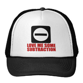 Subtraction 2 Red Hats