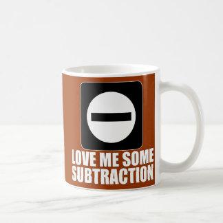 Subtraction 2 White Coffee Mug