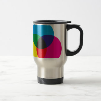 Subtractive Color Mixing Chart 15 Oz Stainless Steel Travel Mug
