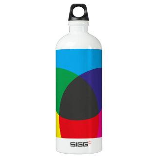 Subtractive Color Mixing Chart Aluminum Water Bottle