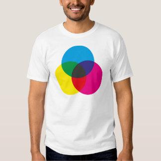 Subtractive Color Mixing Chart Shirt