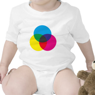 Subtractive Color Mixing Chart T-shirts