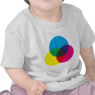 Subtractive Color Mixing Chart Tees