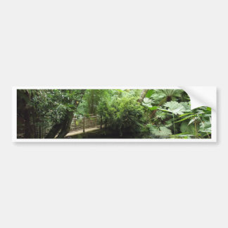 Subtropical Garden Bumper Sticker