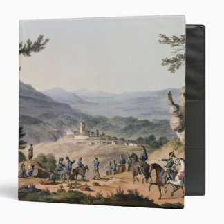 Subugal on the River Coa, engraved by C. Turner 3 Ring Binder