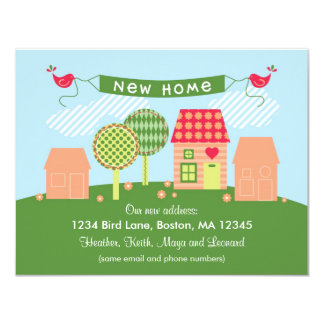 Suburb New Home Card