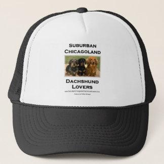 Suburban Chicagoland Dachshund Lovers Trucker Hat