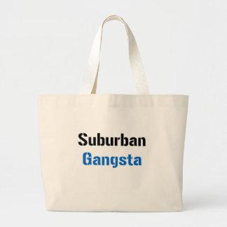 Suburban Gangsta Canvas Bags