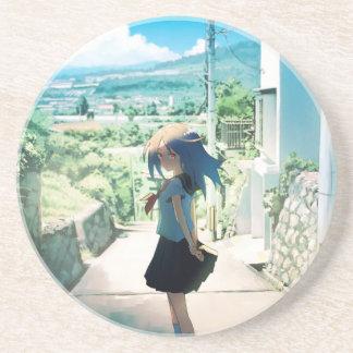 Suburban Girl Drink Coaster