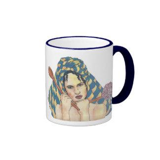 Suburban Mummy Ringer Mug