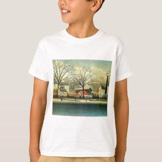 Suburban Scene by Henri Rousseau T-Shirt
