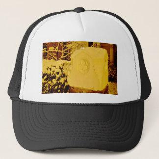 Suburban Snow Trucker Hat
