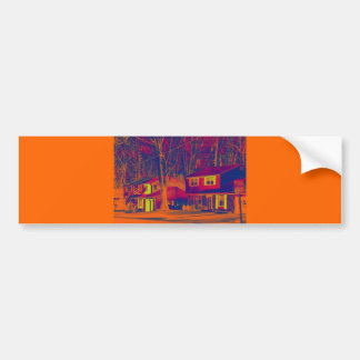 Suburbia Altered Bumper Sticker II