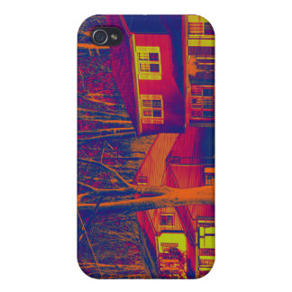 Suburbia Altered  iPhone 4 Cover