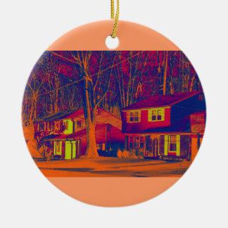 Suburbia Altered Ornament