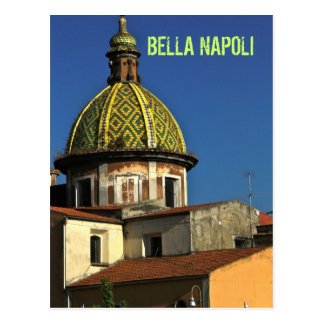 Suburbs of Napoli, Italy Postcard