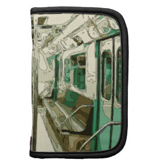 Subway Car Within the Metal Planners