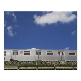 Subway Cars Poster